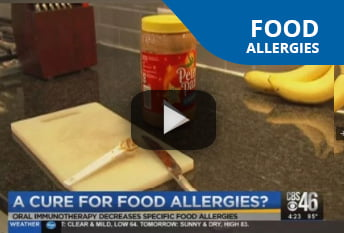 Dr. Thomas Chacko Discussing the Peanut Allergy Cure on CBS