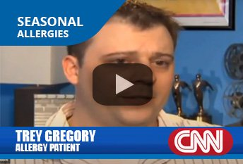 Seasonal Allergies, Trey Gregory and Dr. Thomas Chacko on CNN