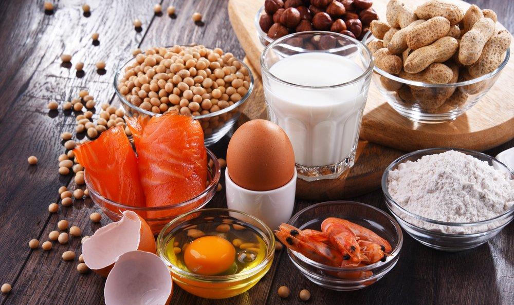 Food allergy symptoms in Atlanta patients.