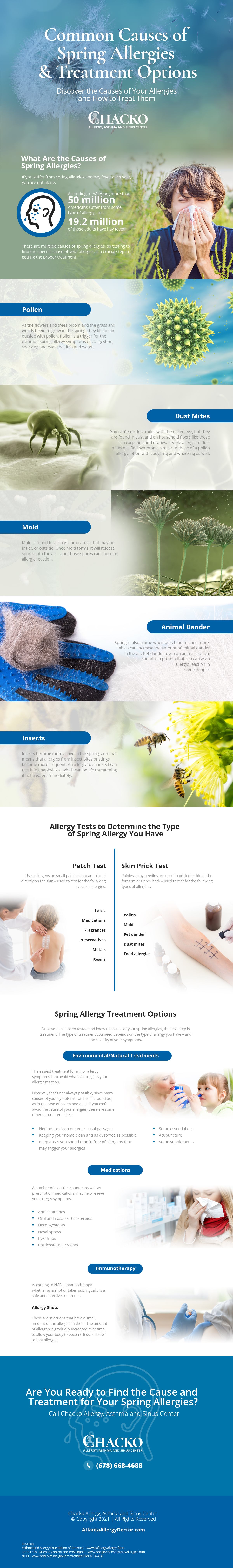 The causes of spring allergies affecting Atlanta residents