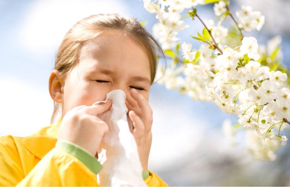 Spring allergy treatments for Atlanta children.