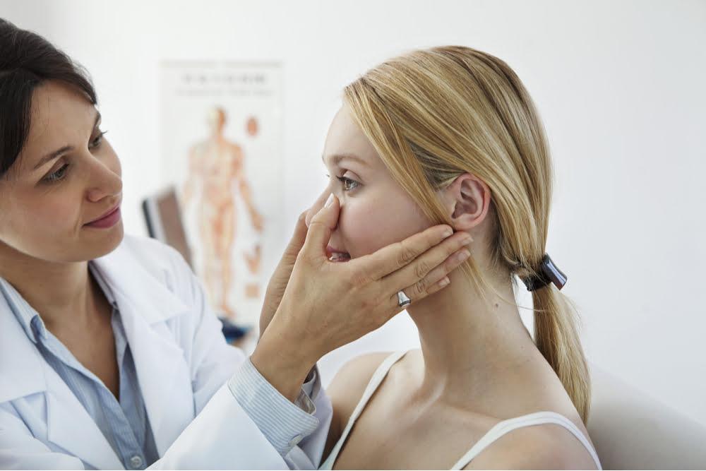 Sinusitis caused by allergies in Atlanta patients.